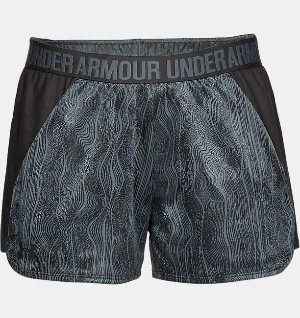 Womens UA Play Up Shorts Jacquard